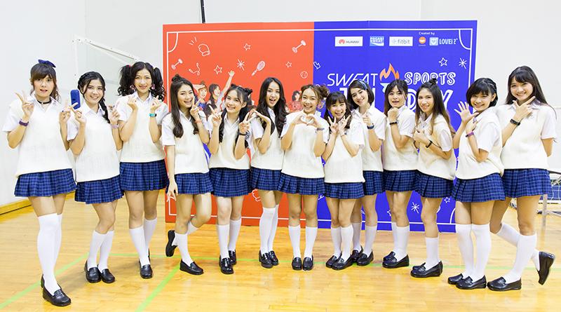 เก็บตกภาพความสนุก Sweat16! Sports Day งานเปิดตัว 13 สาวไอดอลจาก Yoshimoto อย่างเป็นทางการ!